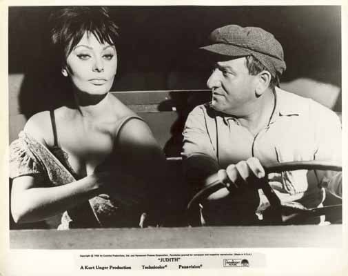 JUDITH 1966 Sophia Loren Rare Original Movie Still 1