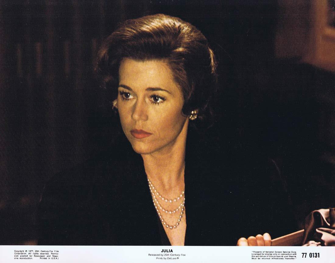 JULIA Lobby Card 2 Jane Fonda Jack Lemmon