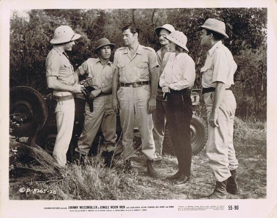 JUNGLE MOON MEN Movie Still 2 Jungle Jim Johnny Weissmuller