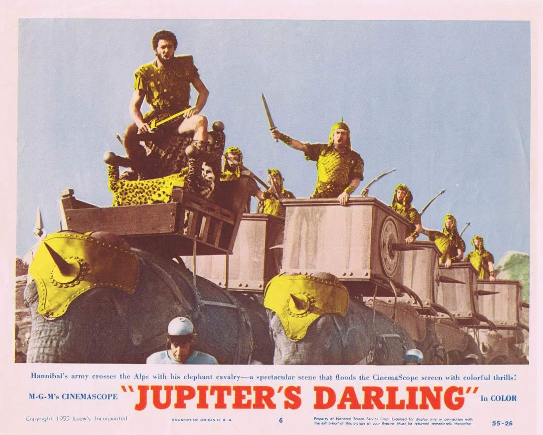 JUPITER'S DARLING Original Lobby Card 6 Esther Williams Howard Keel