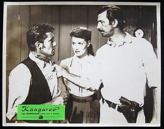KANGAROO '52 Peter Lawford CHIPS RAFFERTY Rare Australian Lobby Card 2