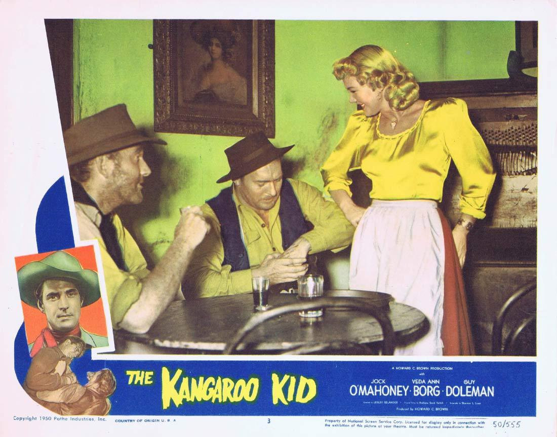 THE KANGAROO KID Original Lobby card 3 Jock Mahoney