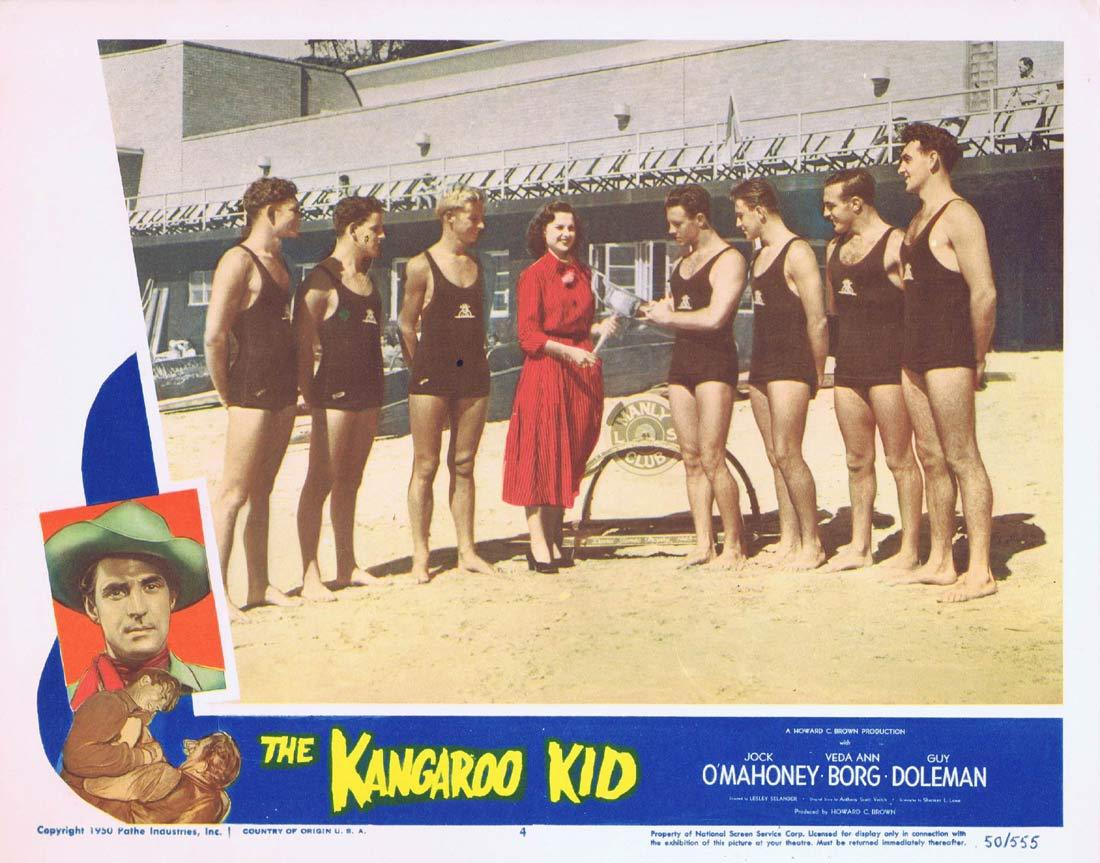 THE KANGAROO KID Original Lobby card 4 Jock Mahoney