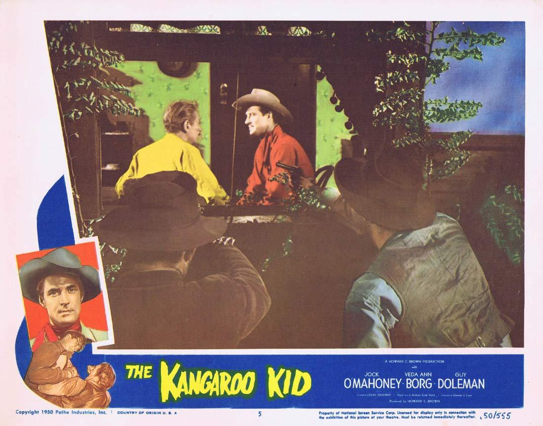 THE KANGAROO KID Original Lobby card 5 Jock Mahoney