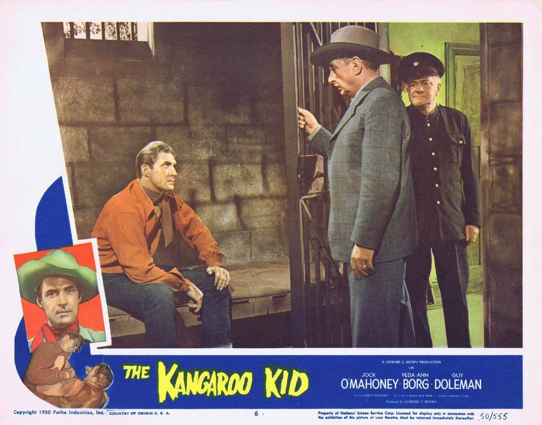 THE KANGAROO KID Original Lobby card 6 Jock Mahoney