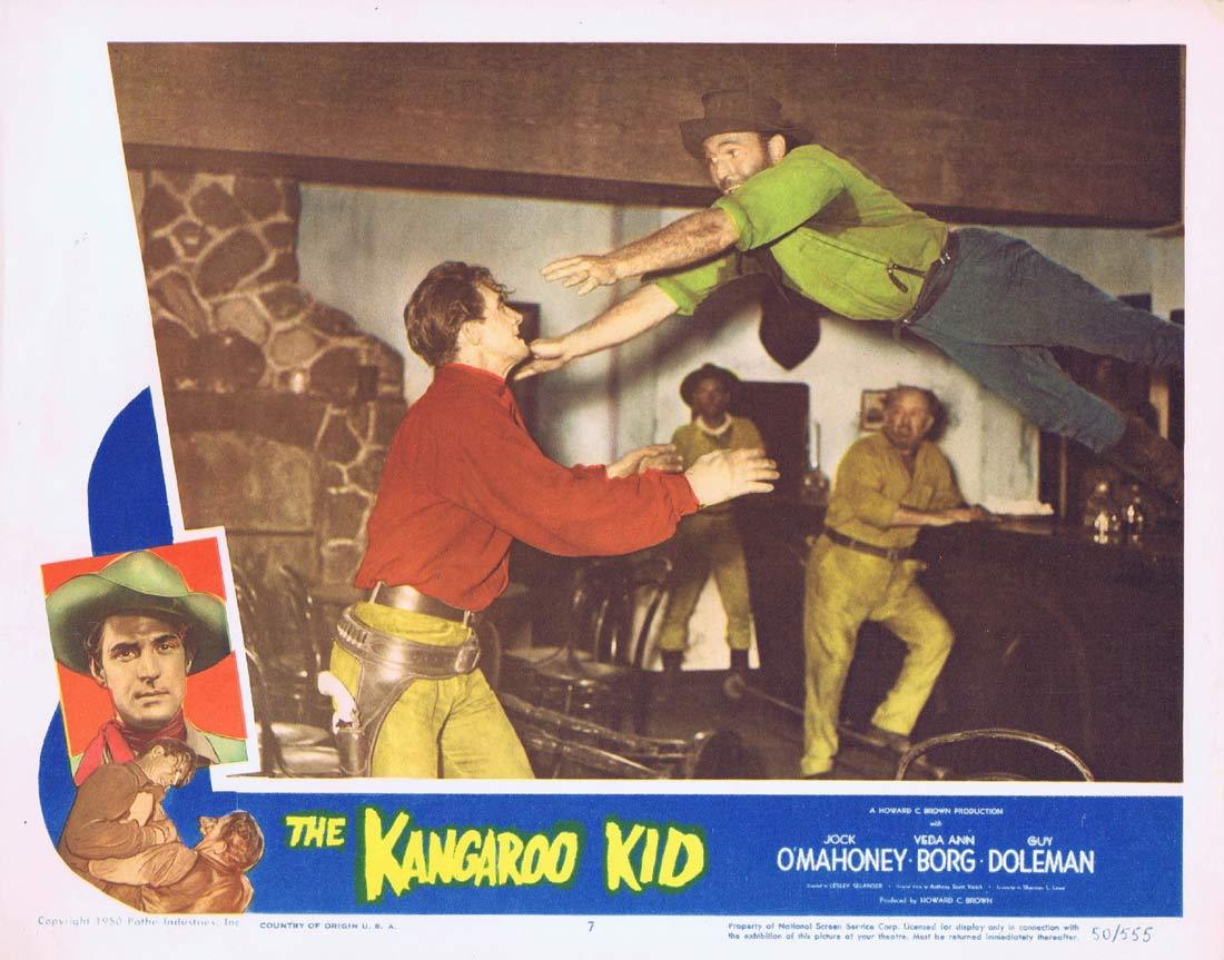 THE KANGAROO KID Original Lobby card 7 Jock Mahoney