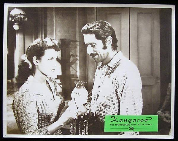 KANGAROO '52 Peter Lawford CHIPS RAFFERTY Rare Australian Lobby Card 3