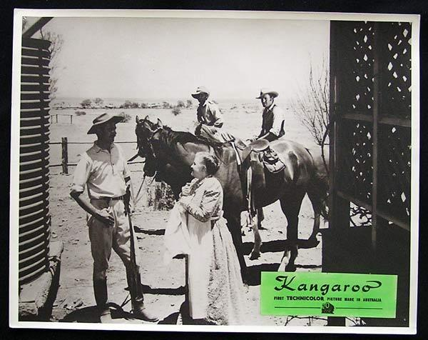 KANGAROO '52 Peter Lawford CHIPS RAFFERTY Rare Australian Lobby Card 4