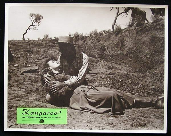 KANGAROO '52 Peter Lawford CHIPS RAFFERTY Rare Australian Lobby Card 6