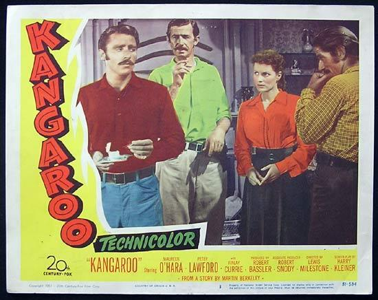 KANGAROO '52 Peter Lawford CHIPS RAFFERTY US Lobby Card 3
