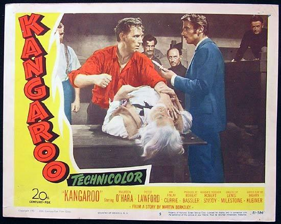 KANGAROO '52 Peter Lawford CHIPS RAFFERTY US Lobby Card 5