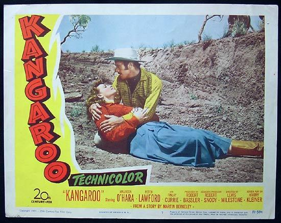 KANGAROO '52 Peter Lawford CHIPS RAFFERTY US Lobby Card 7