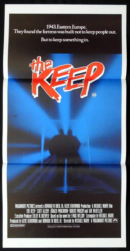 THE KEEP Original Daybill Movie Poster Scott Glenn Ian McKellen Alberta Watson