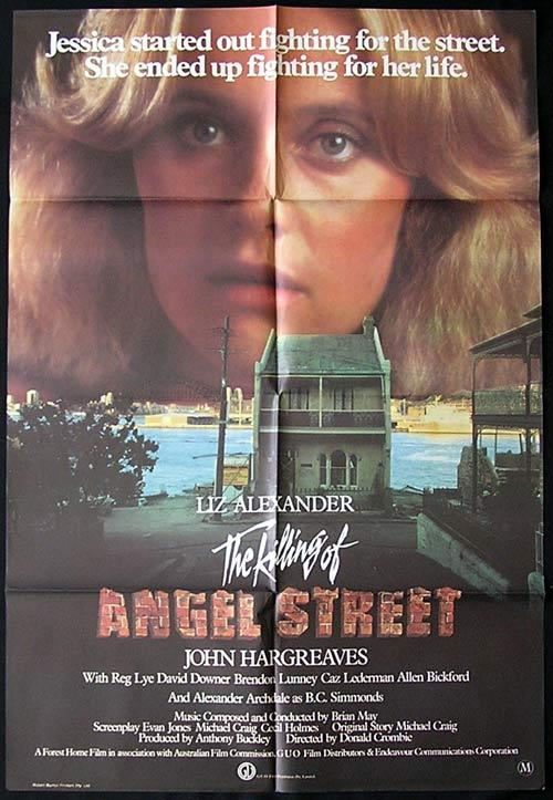 KILLING OF ANGEL STREET Original One sheet Movie poster Liz Alexander Country of Origin