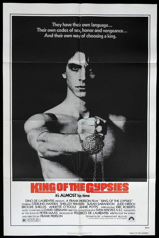 KING OF THE GYPSIES Original One sheet Movie poster Eric Roberts