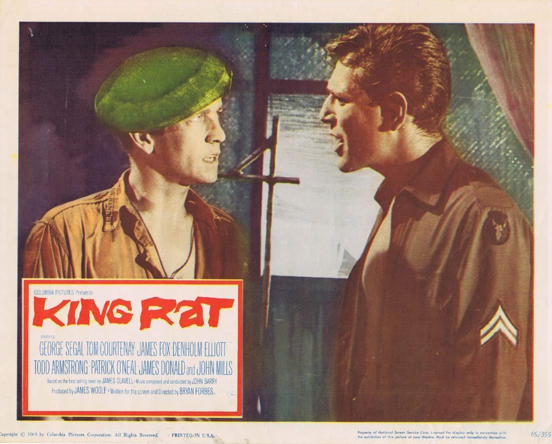 KING RAT Vintage Lobby Card George Segal Tom Courtenay