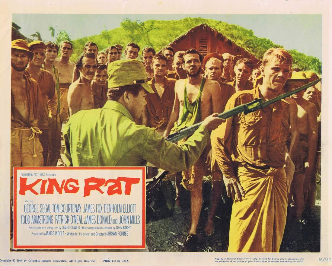 KING RAT Original Lobby Card George Segal Tom Courtenay James Fox