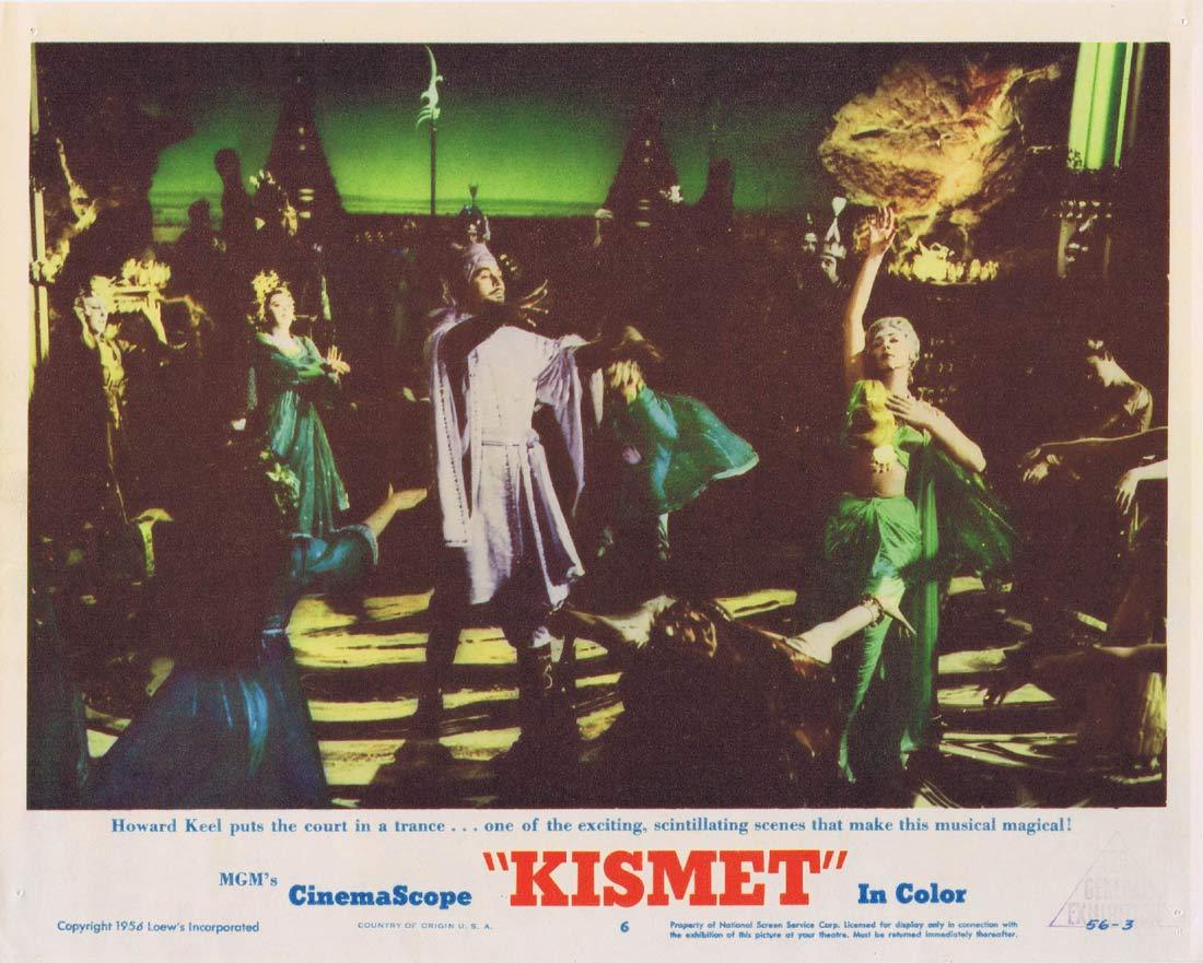 KISMET Original Lobby Card 6 Howard Keel Ann Blyth Dolores Gray