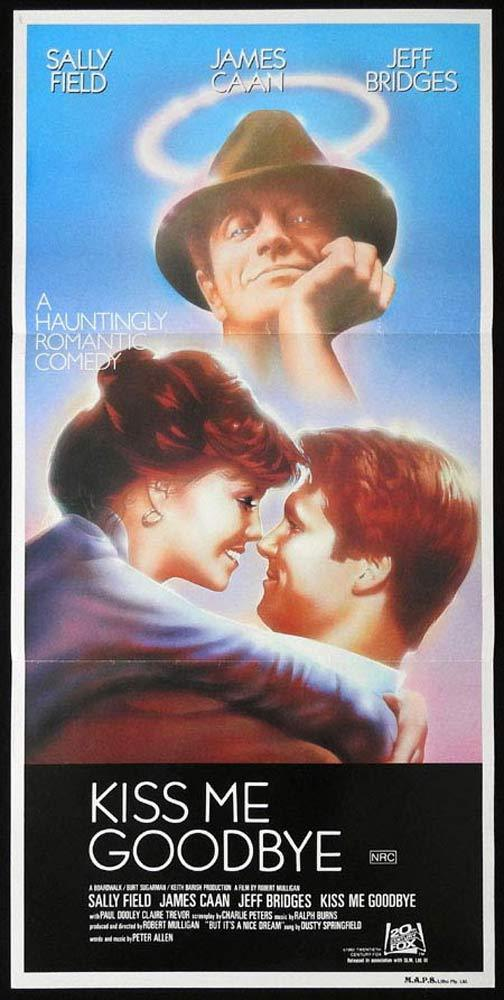 KISS ME GOODBYE Rare Daybill Movie Poster SALLY FIELD James Caan Jeff Bridges