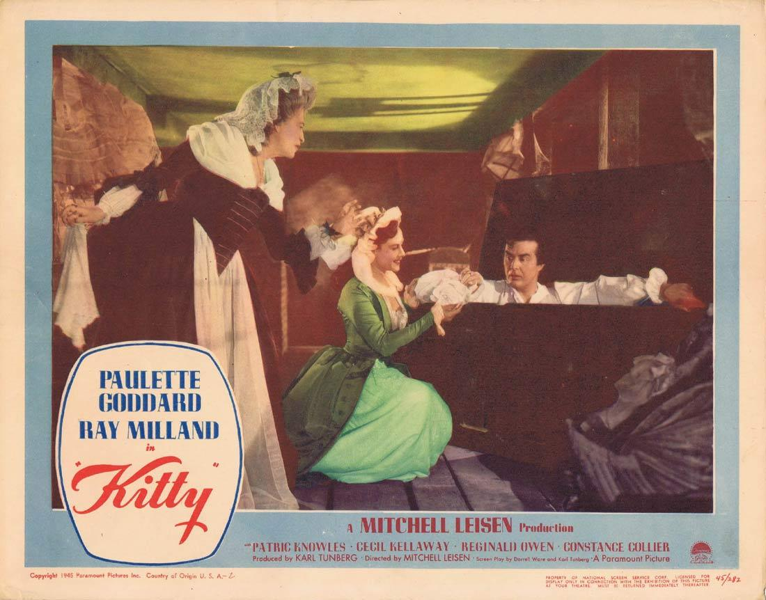 KITTY Lobby Card 4 Paulette Goddard Ray Milland