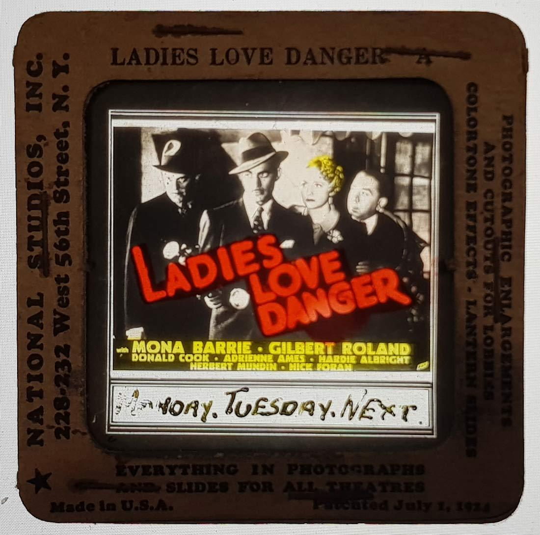 Ladies Love Danger, H. Bruce Humberstone, Mona Barrie, Gilbert Roland, Donald Cook, Adrienne Ames, Hardie Albright and Herbert Mundin