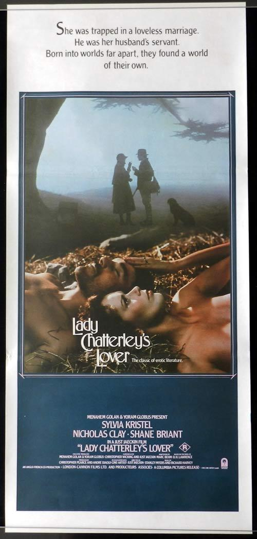 LADY CHATTERLY'S LOVER 1981 Sylvia Kristel Vintage Australian daybill poster