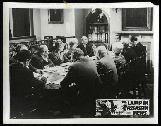 LAMP IN ASSASSIN MEWS Rare British Film Noir Lobby Card 6