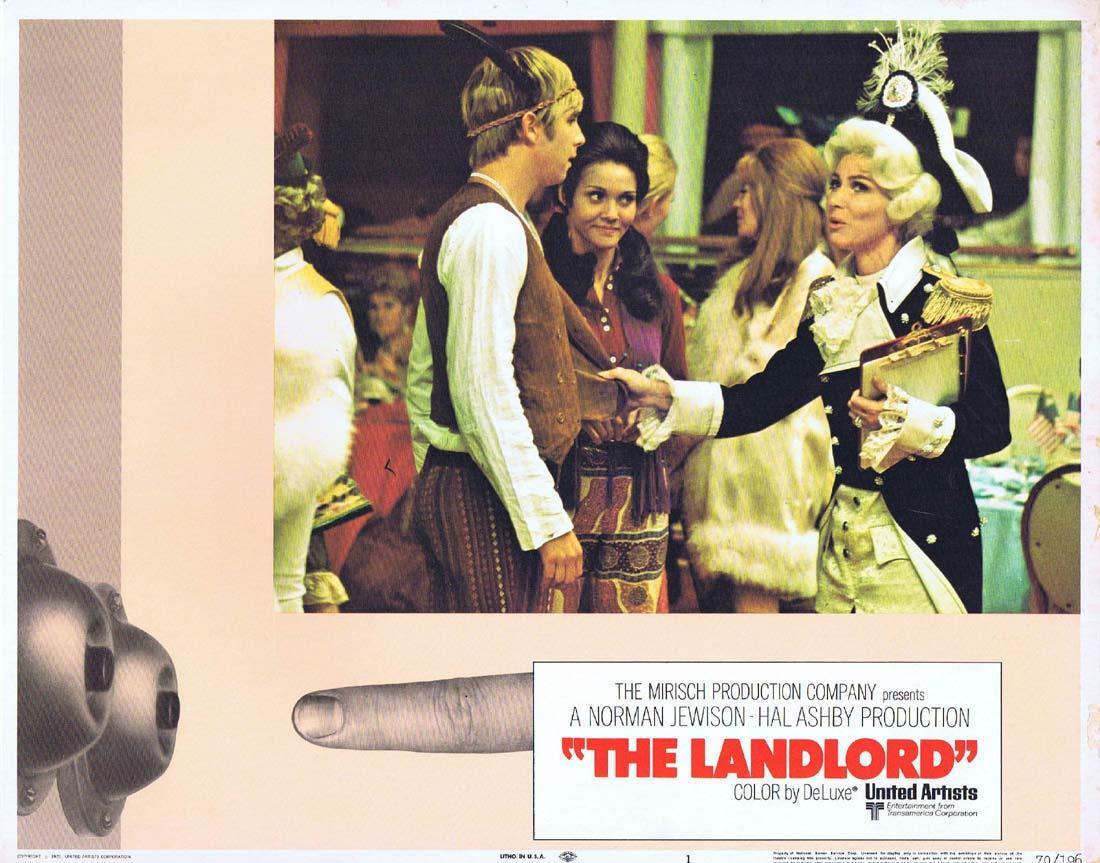 THE LANDLORD Original Lobby Card 1 Beau Bridges Lee Grant