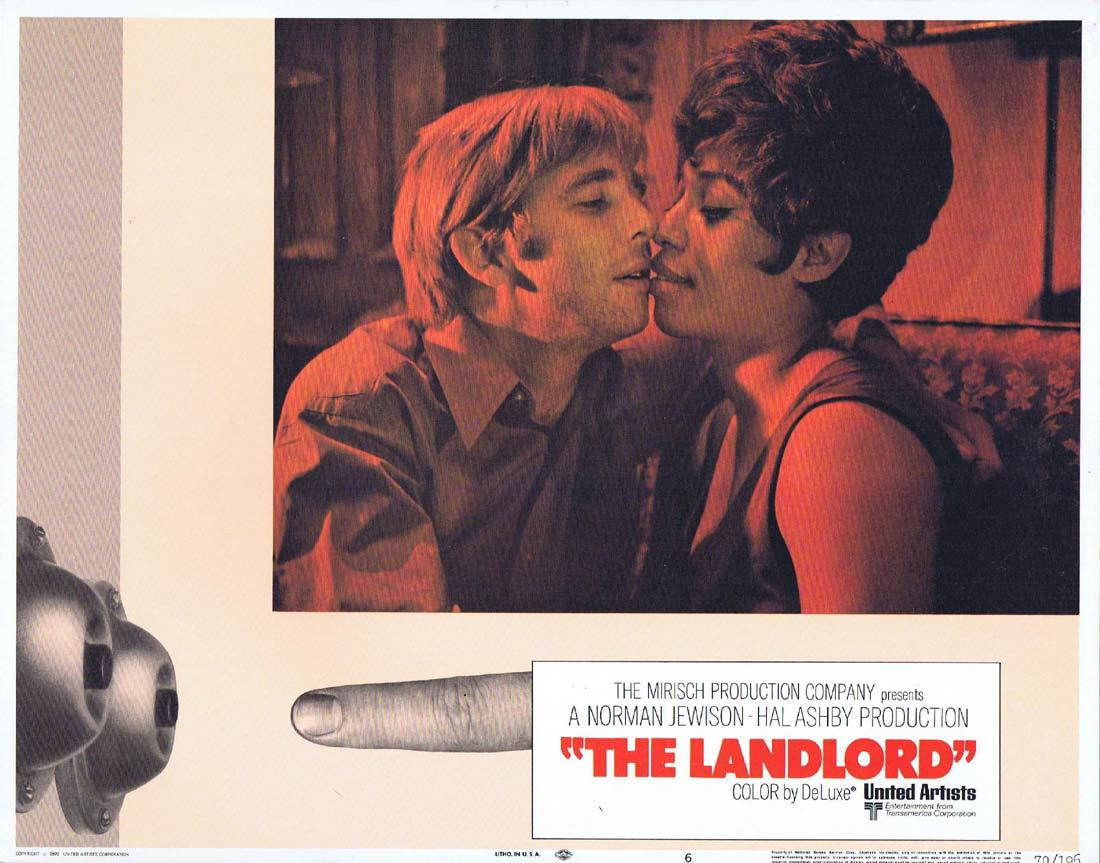 THE LANDLORD Original Lobby Card 6 Beau Bridges Lee Grant