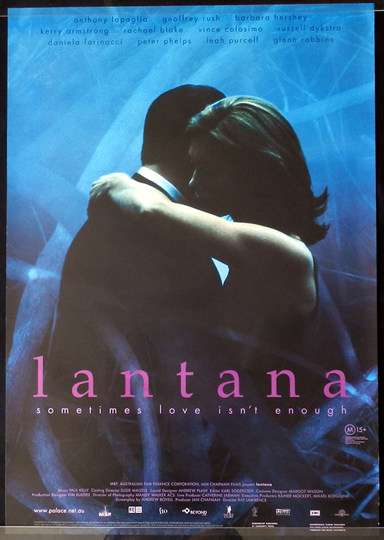 LANTANA 2001 Australian One sheet Movie Poster Anthony LaPaglia
