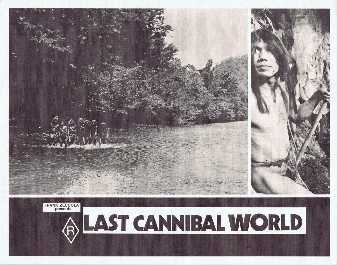 LAST CANNIBAL WORLD aka Jungle Holocaust Lobby Card 3 Me Me Lai