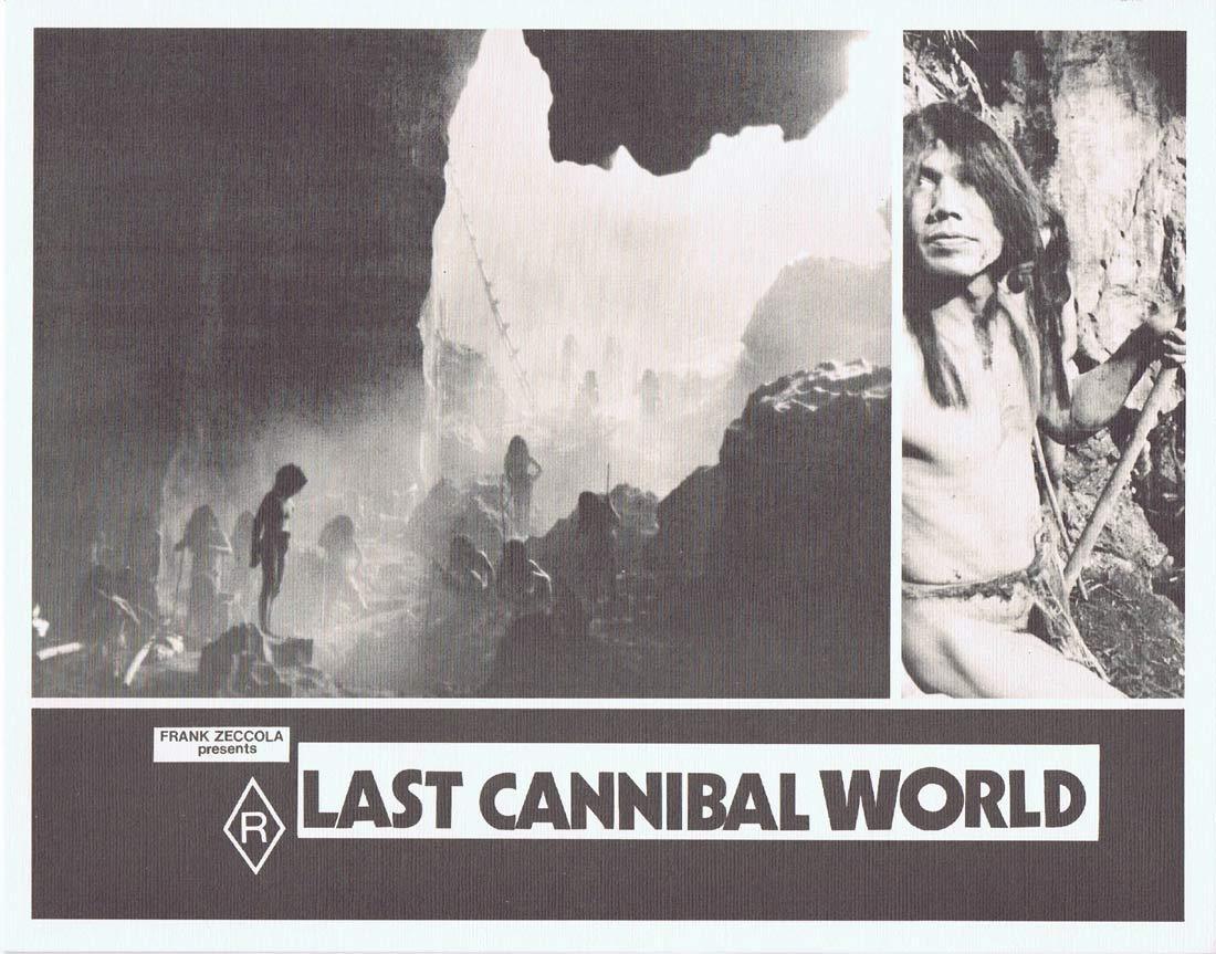 LAST CANNIBAL WORLD aka Jungle Holocaust Lobby Card 7 Me Me Lai
