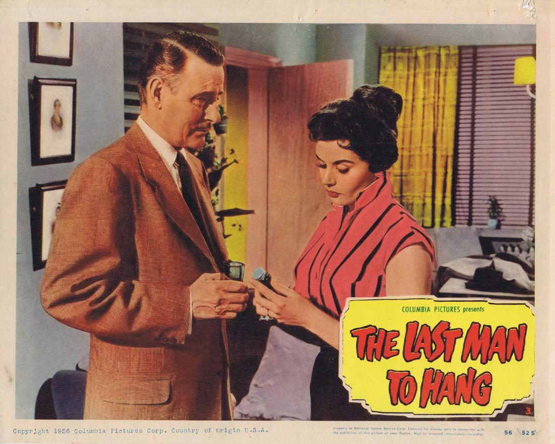 THE LAST MAN TO HANG Vintage Lobby Card 3 Tom Conway