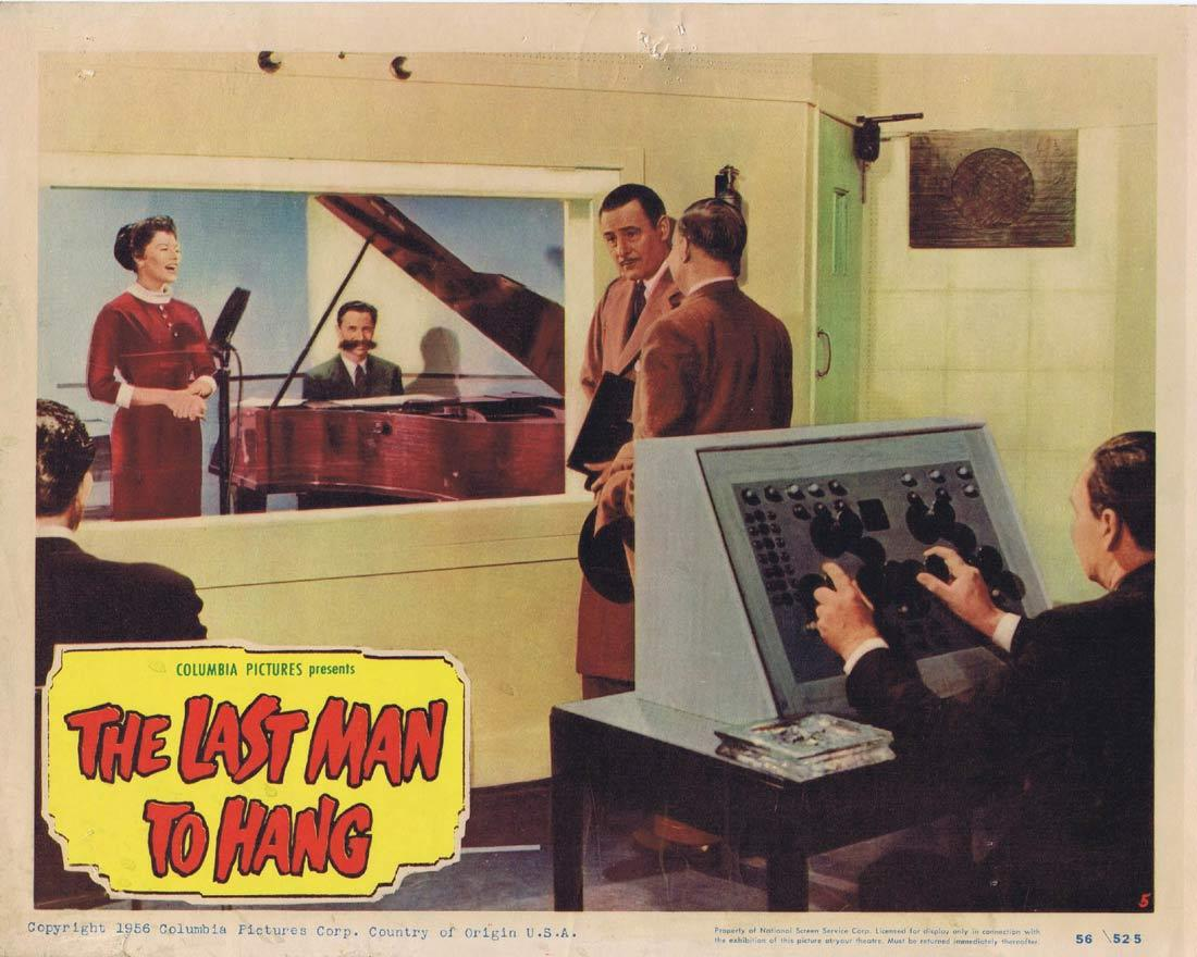 THE LAST MAN TO HANG Vintage Lobby Card 5 Tom Conway