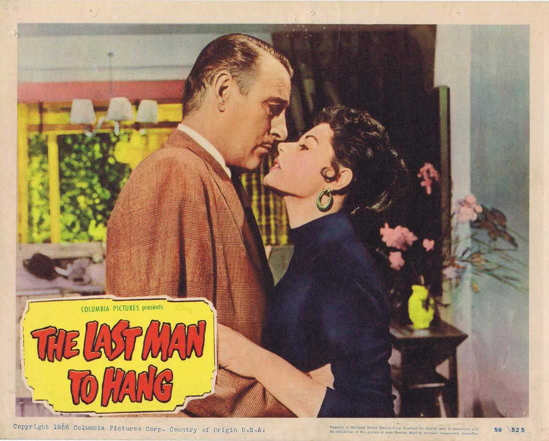 THE LAST MAN TO HANG Vintage Lobby Card 6 Tom Conway