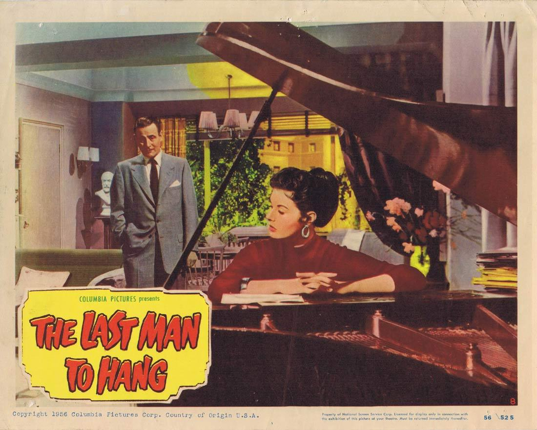 THE LAST MAN TO HANG Vintage Lobby Card 8 Tom Conway