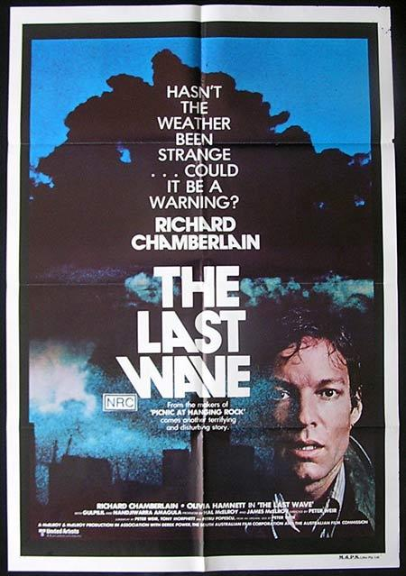 LAST WAVE, The 1977 Peter Weir STYLE B One Sheet Movie poster