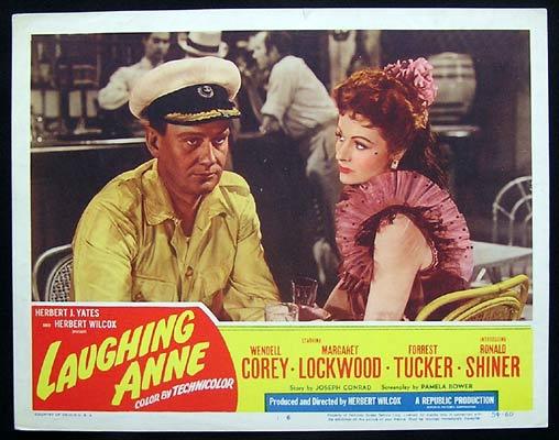 LAUGHING ANNIE Vintage Lobby Card 6 Margaret Lockwood Wendell Corey