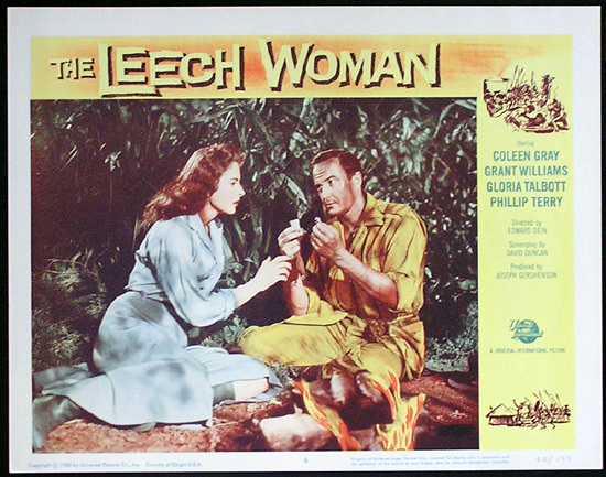 LEECH WOMAN Colleen Gray Sci Fi Lobby card 6