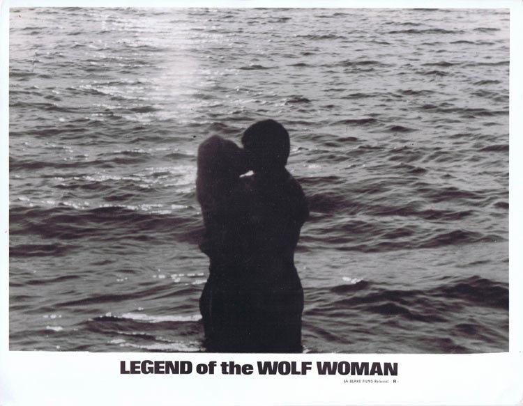 LEGEND OF THE WOLF WOMAN Lobby card 7 Horror WEREWOLF