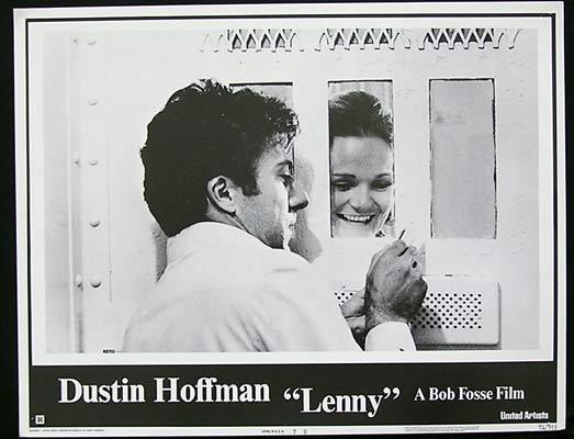 LENNY 1974 Dustin Hoffman LENNY BRUCE Lobby Card 7