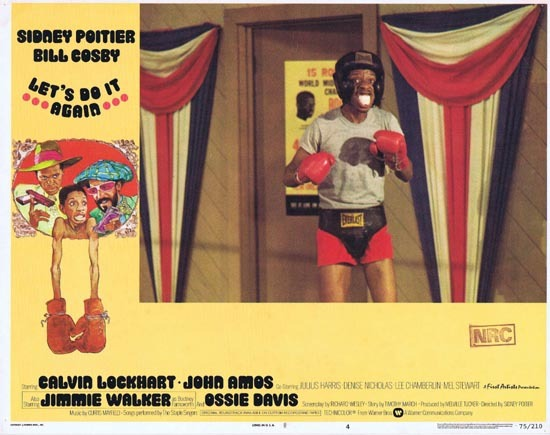 LET'S DO IT AGAIN 1975 Calvin Lockhart Lobby card 4 Boxing