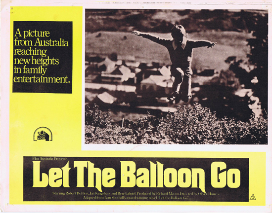 LET THE BALLOON GO Lobby Card 1 1972 John Ewart