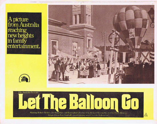LET THE BALLOON GO Lobby Card 2 1972 John Ewart