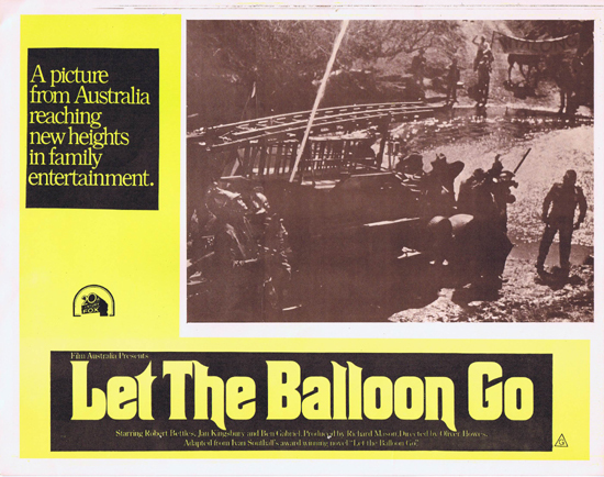 LET THE BALLOON GO Lobby Card 6 1972 John Ewart