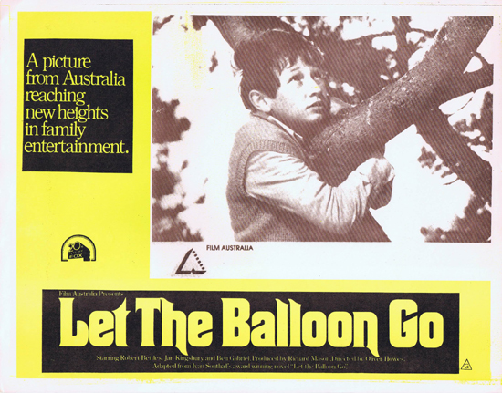 LET THE BALLOON GO Lobby Card 7 1972 John Ewart