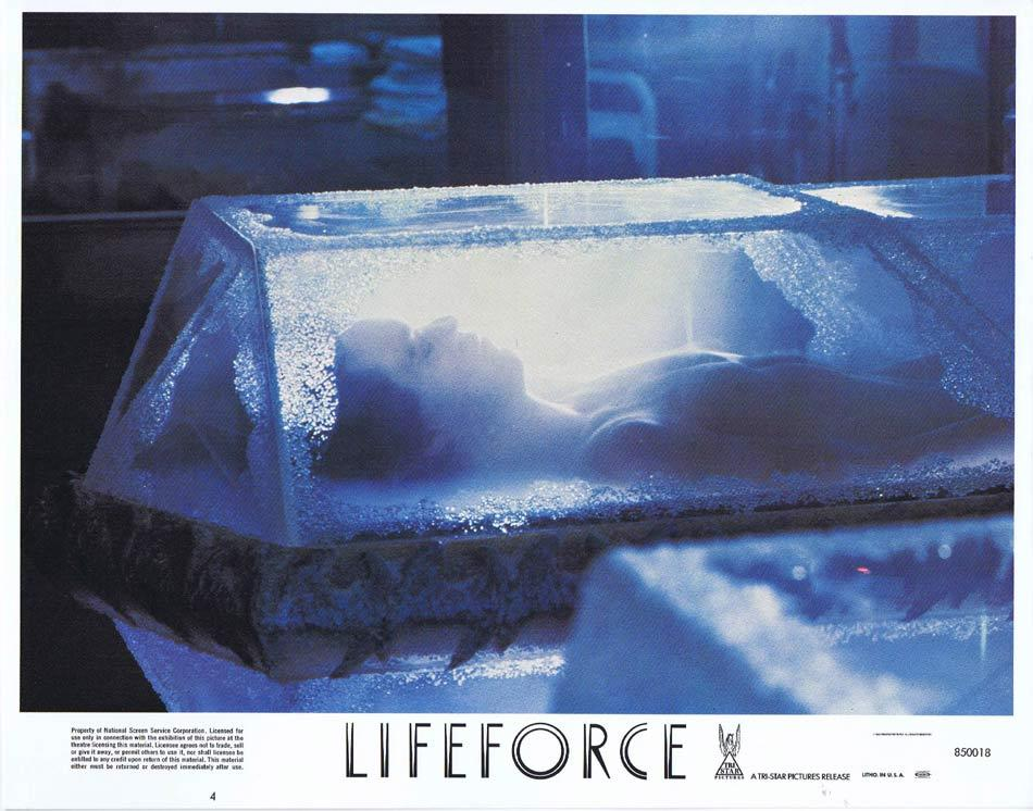 LIFEFORCE Lobby Card 4 Space Vampires Sci Fi Horror