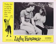 LIGHT FANTASTIC Vintage Movie Lobby Card 2 Dolores McDougal Barry Bartle Jean Shepherd