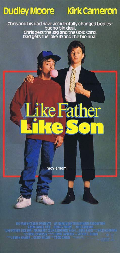 LIKE FATHER LIKE SON Original Daybill Movie poster DUDLEY ...