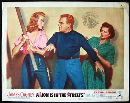 A LION IS IN THE STREETS James Cagney ORIGINAL US Lobby card #7